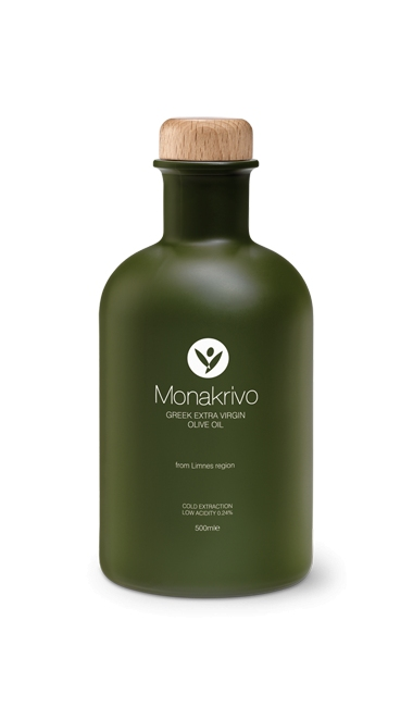 Monakrivo from Limnes region - Greek Extra Virgin Olive Oil